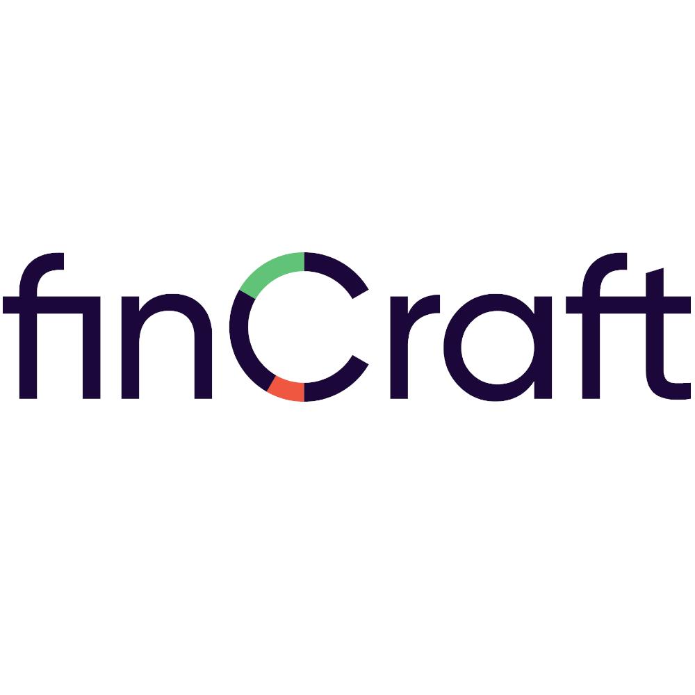Das Bild zeigt das Logo von Fincraft.