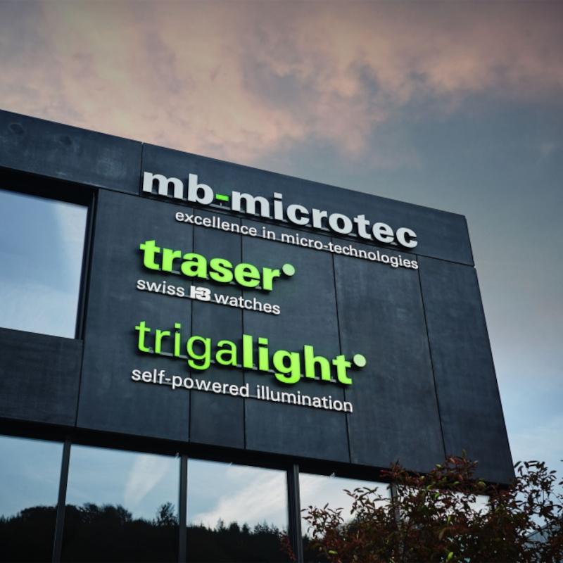 Mit Klick auf dieses Bild, sehen Sie das Firmengebäude von trigalight in Niederwangen.