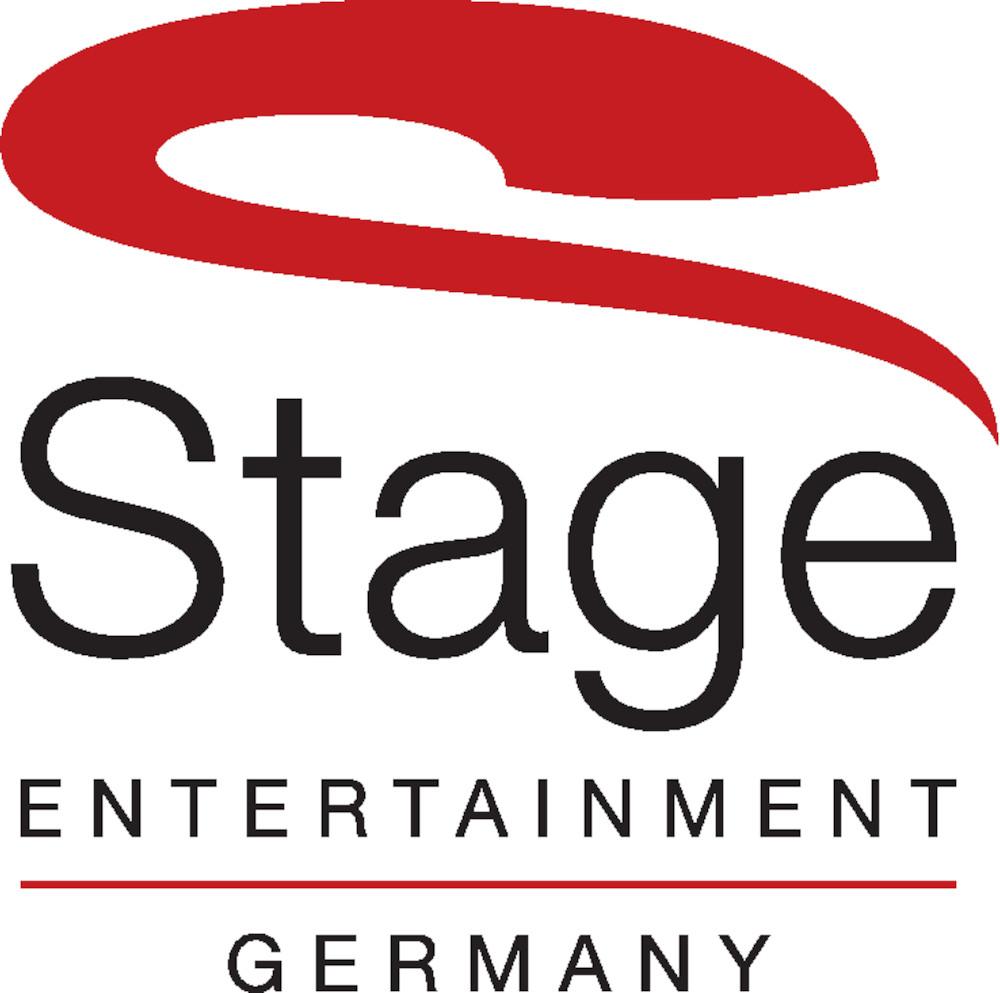Mit Klick auf dieses Bild, sehen Sie das Stage Entertainment Germany Logo in Schwarz und Rot auf weißem Hintergrund